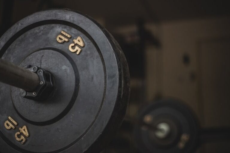 Hantelbank mit Gewichten-3